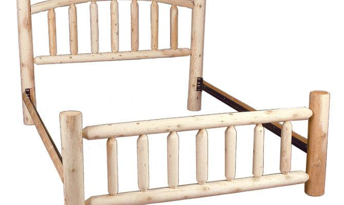 Rustic Cedar Log Style Beds Panel Bed Reviews Wayfair