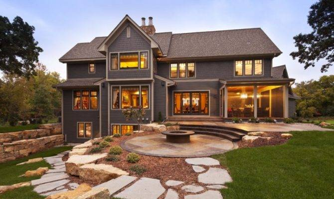 Rustic Contemporary Country Home Hendel Homes