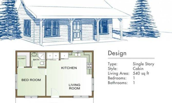 Rustic Cottage Floor Plans