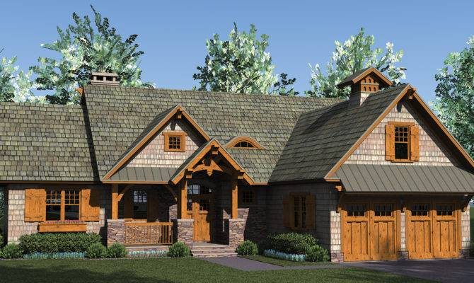 Rustic Craftsman House Plans Car Tuning