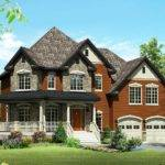 Rustic Farmhouse House Plan Architectural