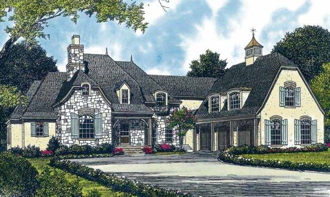Rustic French Country Home Plans