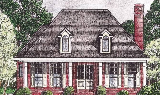 Rustic French Country House Plans Provincial