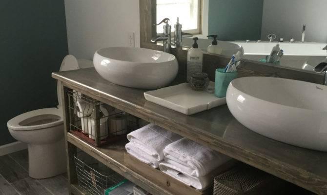 Rustic His Hers Bathroom Vanity Waverlygrains