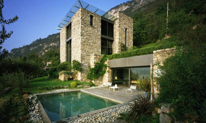 Rustic House Design Lake Como Italy Most Beautiful