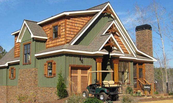 Rustic House Plans Stone Home Deco