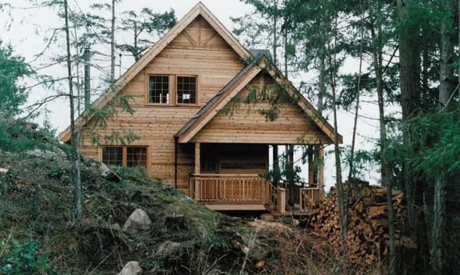 Rustic Lake Cabin Plans Log Design