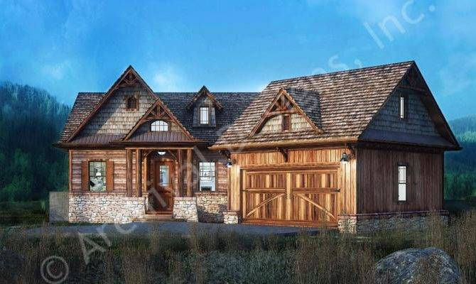 Rustic Lake House Plan Style Architectural