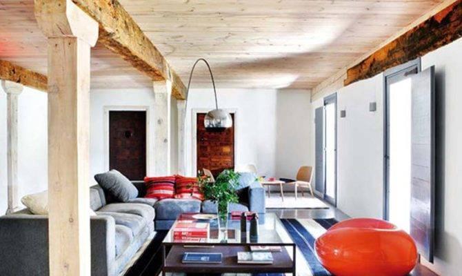 Rustic Modern Living Room Decor Design Ideas