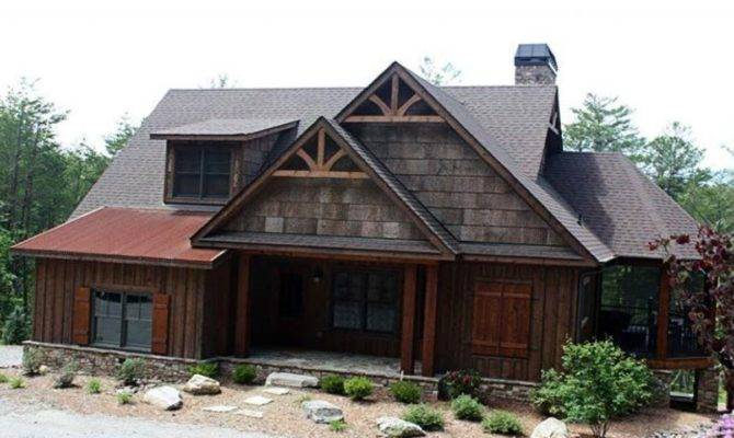 Rustic Mountain Cabin House Plans
