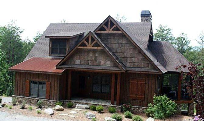 Rustic Mountain House Plan Design Work Great