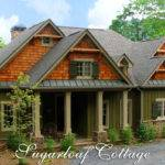 Rustic Mountain Style Cottage House Plan Sugarloaf