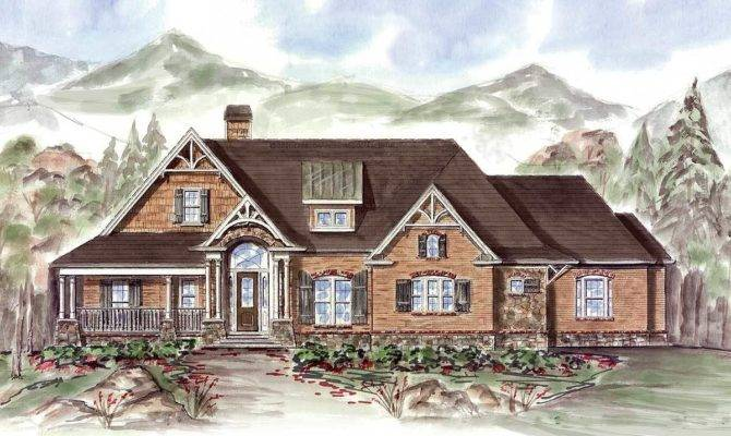 Rustic Ranch Architectural Designs House Plans