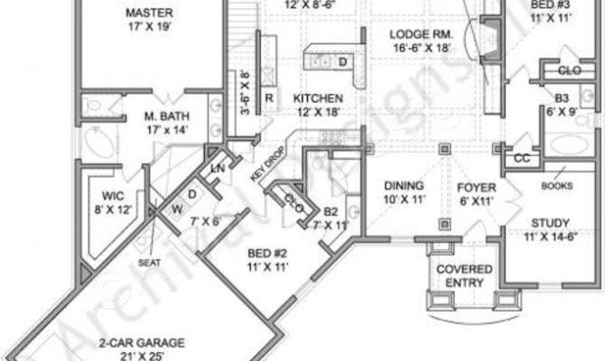 Rustic Ranch Home Floor Plans Deco