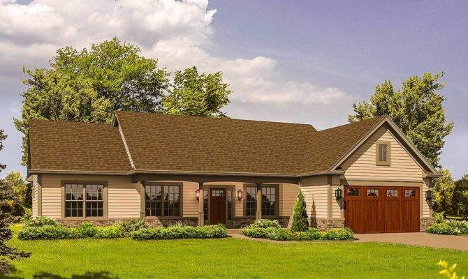 Rustic Ranch Home Plan Architectural Designs