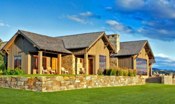 Rustic Ranch House Plans Photos
