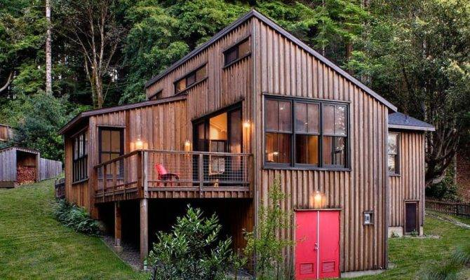 Rustic Small Cabin Feels Surprisingly Huge Inside