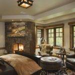 Rustic Traditional House Design Bedroom