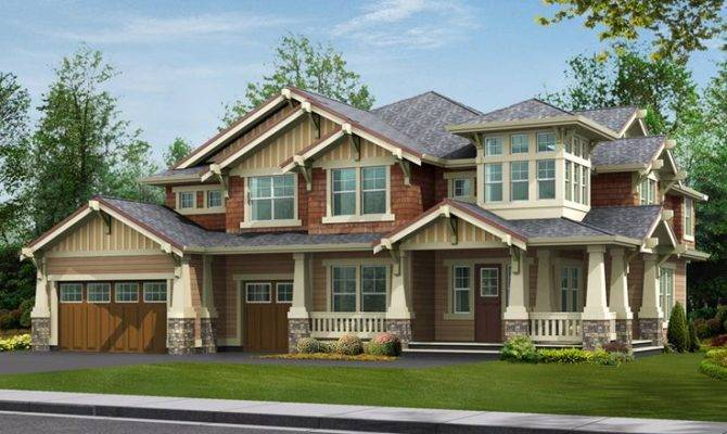 Rustic Wood Craftsman Style Home Design Cottage Bungalow