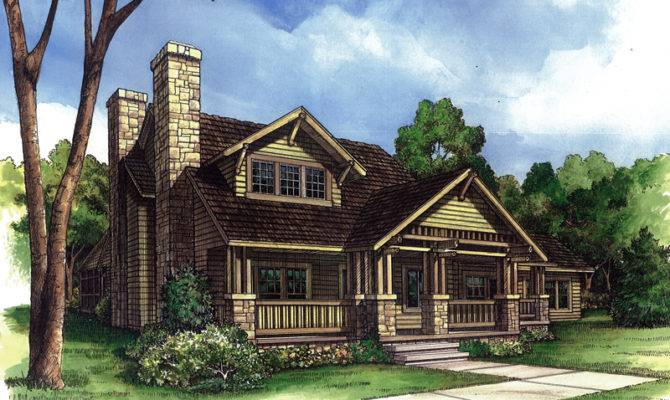 Sadlersville Rustic Country Home Plan House