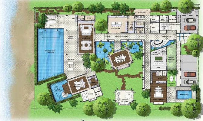 Saisawan Beach Villas Ground Floor Plan Blogkaku Home