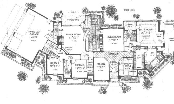 Salida Manor Luxury Ranch Home Plan House