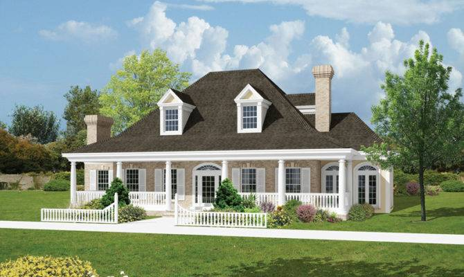 Salisbury Park Southern Home Plan House Plans