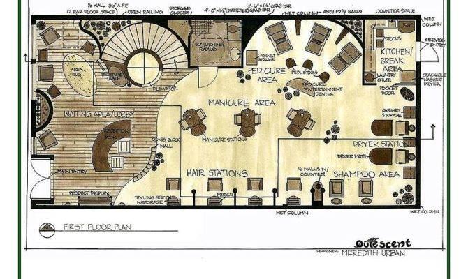 Salon Layouts Spa Plans