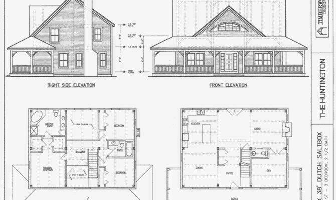 Salt Box Home Plans House