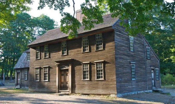 Saltbox House All Classic Colonial
