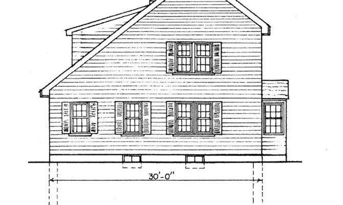 Saltbox House Plans Villanova Place Salt Box Home Plan