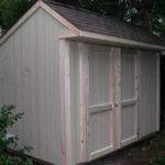 Saltbox Shed Plans Detailed Building