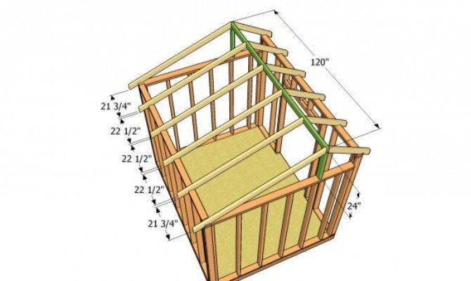 Saltbox Shed Plans Myoutdoorplans Woodworking