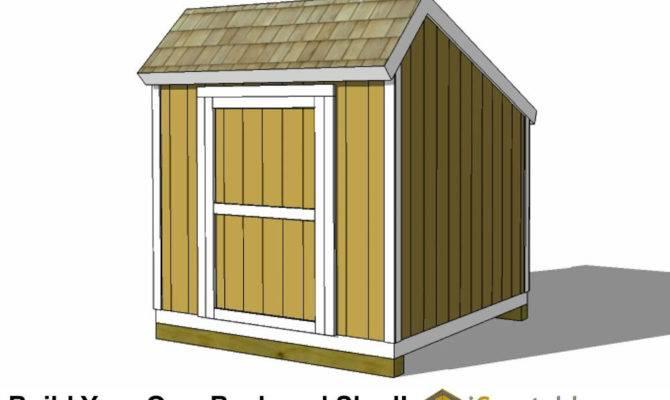 Saltbox Shed Plans Storage