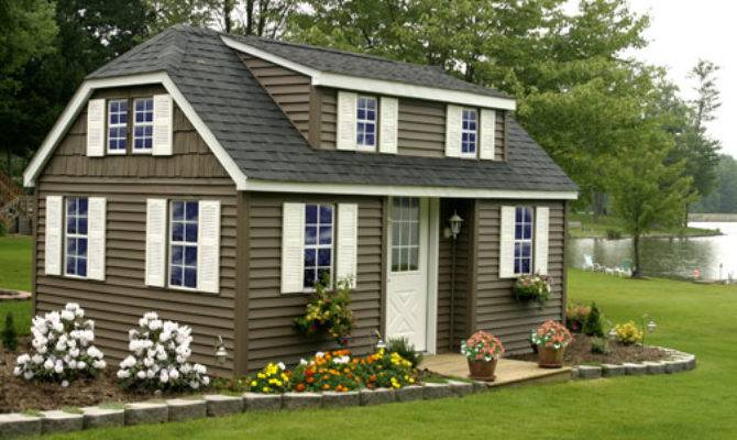 Saltbox Storage Shed Plans Unique Look