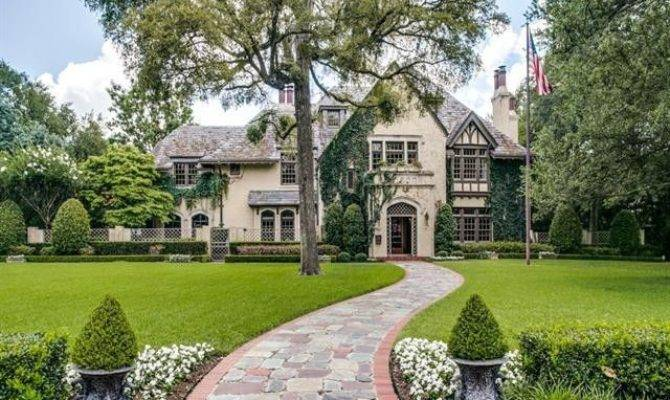 Sam Wyly Highland Park Tudor Estate Hits Market
