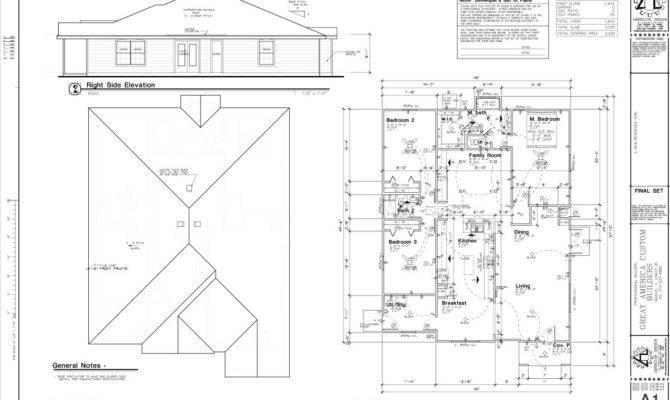 Sample Blueprint House
