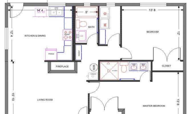 Sample Floor Plan House Homes Plans