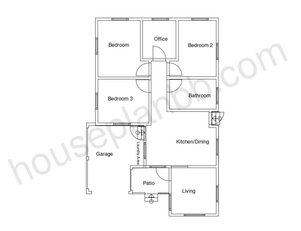Sample Home Designs Bedroom Plans House Plans 17544