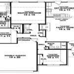 Sample Modern Bedroom House Plans Plan