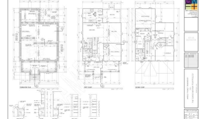 Sample Plan Set Gmf Architects House Plans