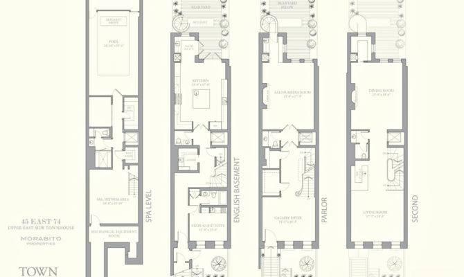 San Francisco Townhouse Floor Plans
