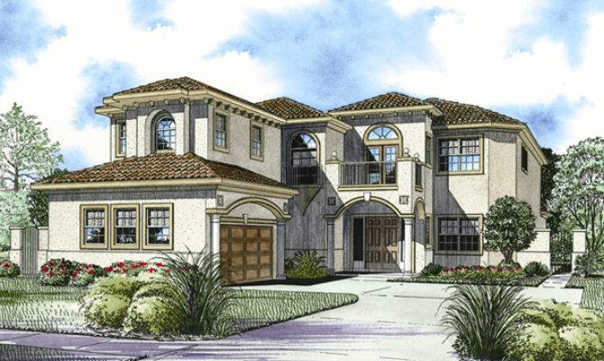 San Simon Florida Style Home Plan House Plans
