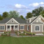 Sand Hill Craftsman Ranch Home Plan House Plans More