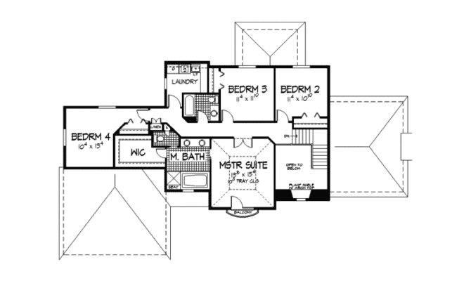 Santa House Plan Second Floor Plans More
