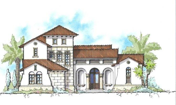 Sater Design Collection Courtyard House Plans