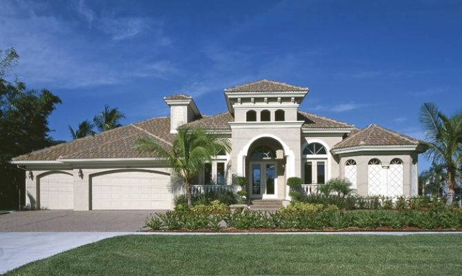 Sater Design Collection Deauville Home Plan