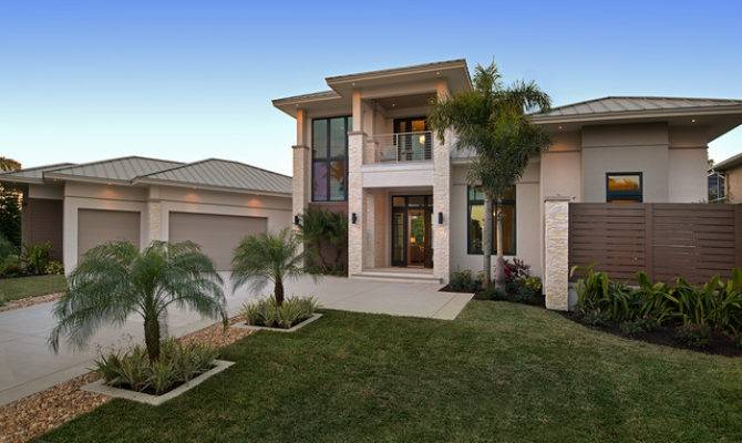 Sater Design Collection Moderno House Plan