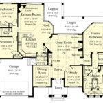Sater Design Collection Toscana Home Plan