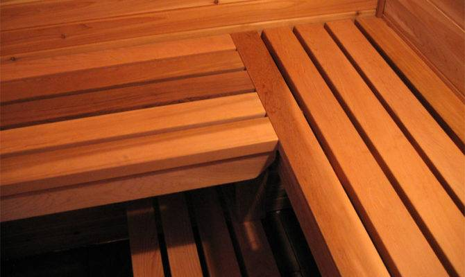 Sauna Bench Diy Wood Plans